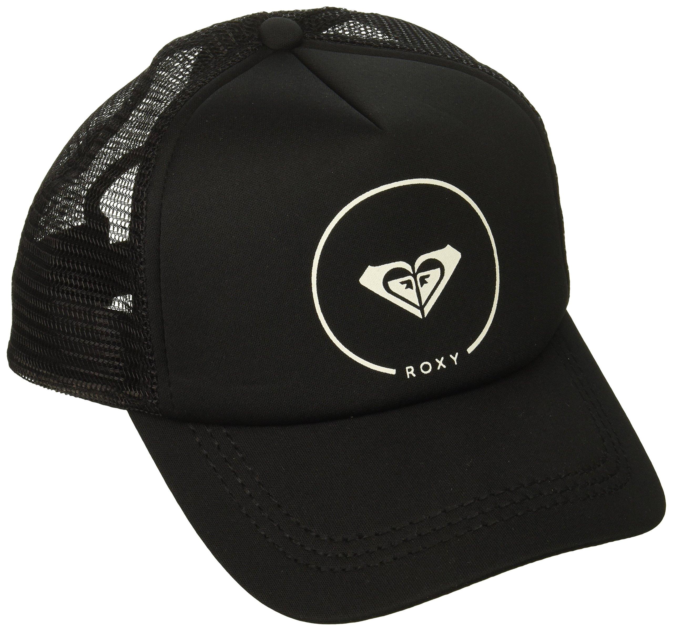 Roxy Women's Truckin Trucker Hat, Black Anthracite, 1SZ