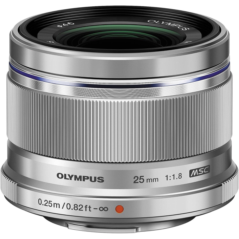 Olympus M.ZUIKO Digital - Objetivo (9/7, Objetivos macro, 0,25 m, Micro Cuatro Tercios, 1,8-22, 2,5 cm) V311060BU000