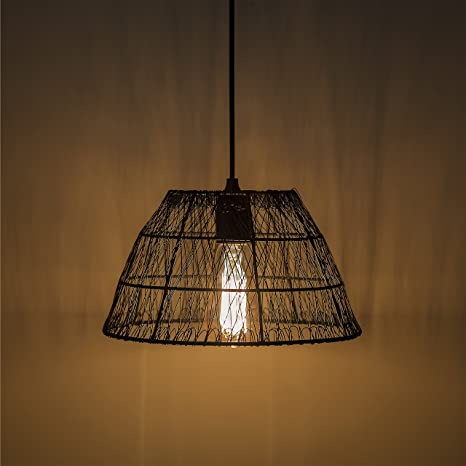 Buy Homesake Metal Wire Mesh Lamp Shade Hanging Light Ceiling