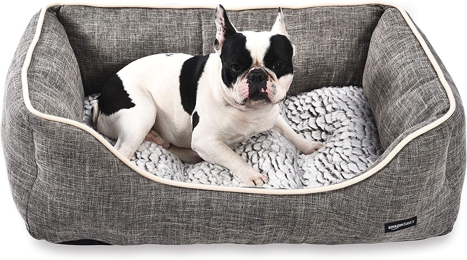 Amazon Sales Basics trend rank Cuddler Bolster Pet Bed For Cats or Dogs and Soft