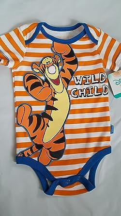 7d2da6507e2c5 Disney Winnie the Pooh Tigger Baby Boys Bodysuit Dress Up Outfit - -: Amazon .co.uk: Clothing