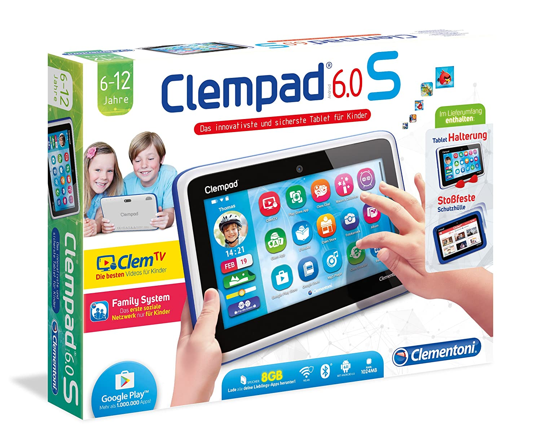 Clementoni 69276.7 - Clempad 6.0 S Tablet, 8GB, 7 Zoll: Amazon.de ...