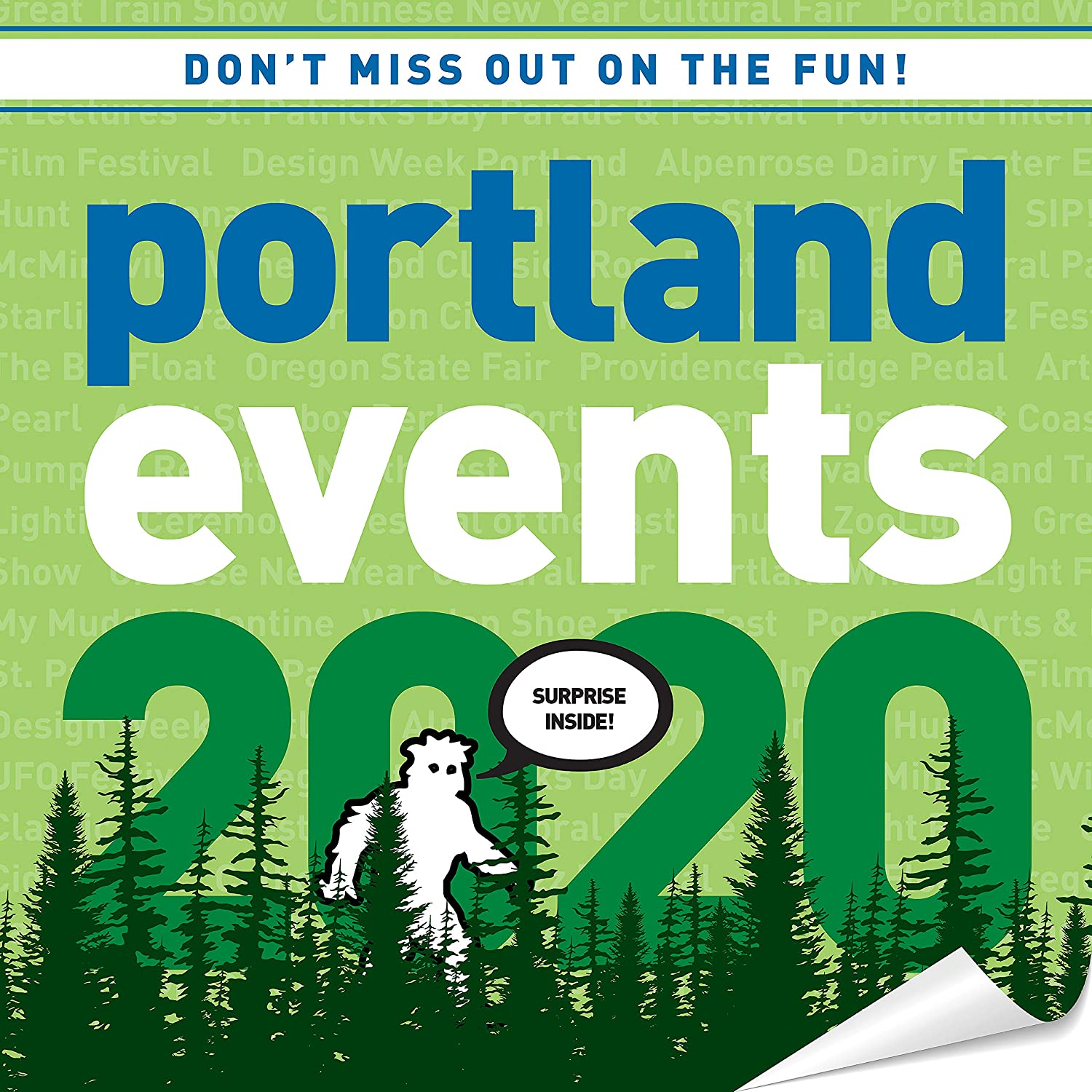 Oregon State Fair 2020 Schedule.Portland Events 2020 Wall Calendar Over 250 Portland Oregon Event Dates And Activities Already On Your Calendar