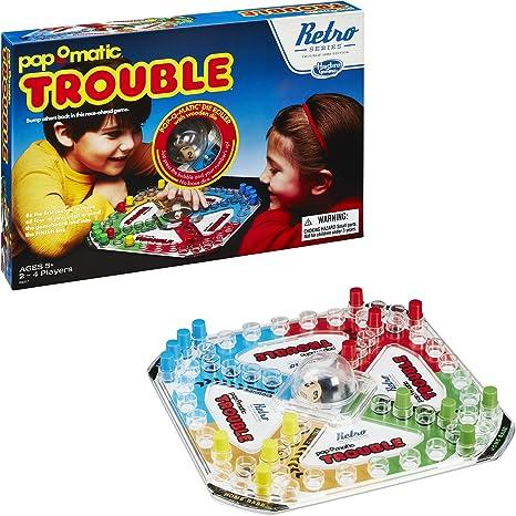 Trouble Game: Retro Series 1986 Edition: Amazon.es: Juguetes y juegos