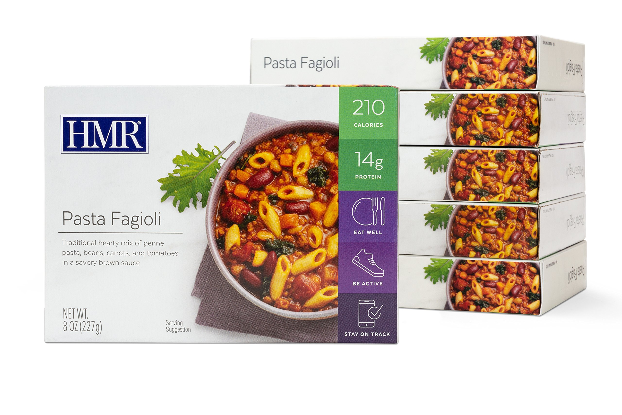 HMR Pasta Fagioli Entree, 8 oz. Servings, 6 Count