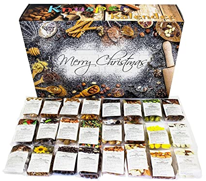 Nfr Calendar.C T Crunchy Advent Calendar 2018 24 Delicious Snack Mixes Including Nuts Munchies With Chocolate Honey More Food Lovers Christmas Calendar