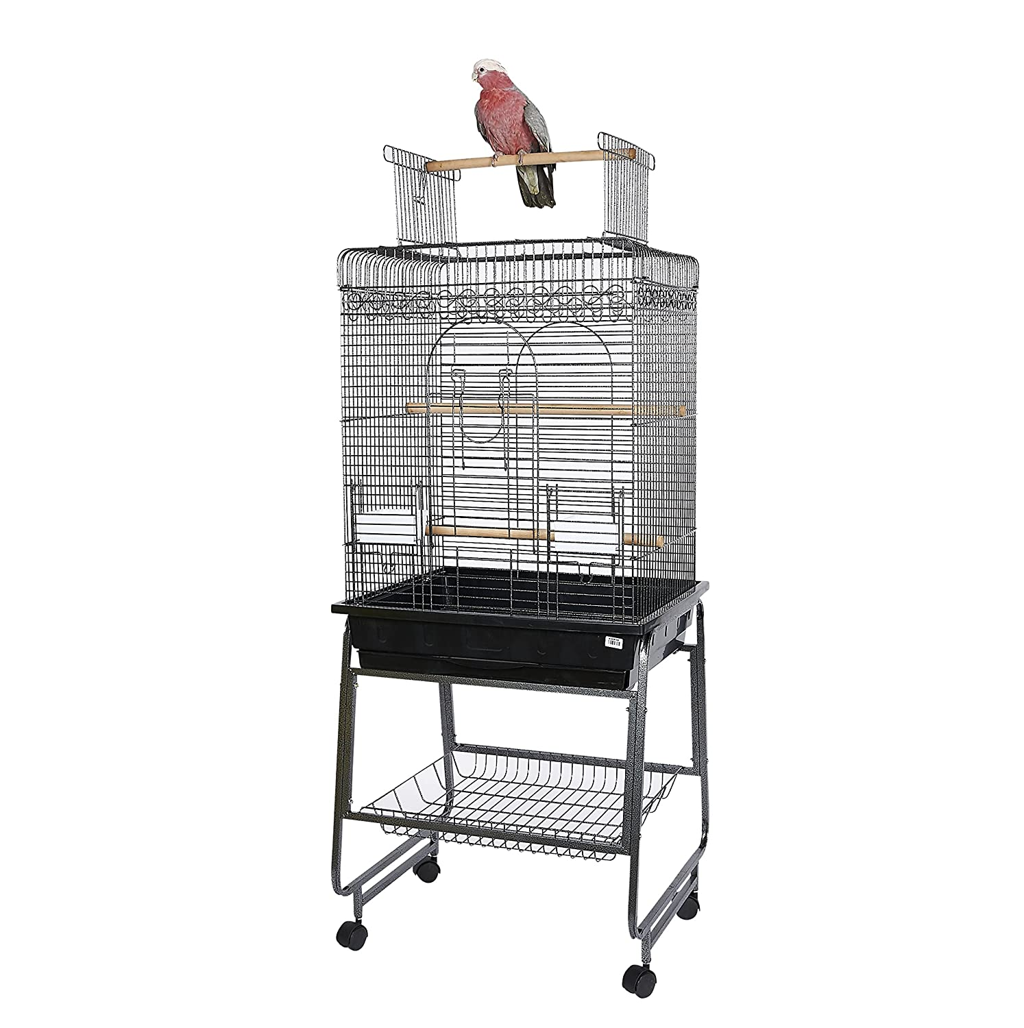 Kookaburra Cedar Parred Cage and Stand for Small and Medium sized Parreds