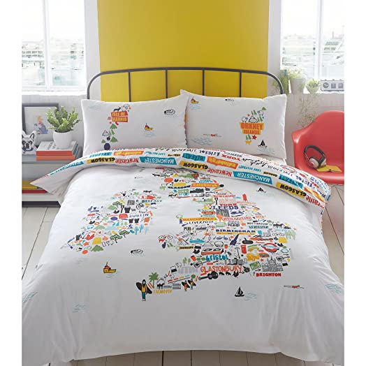 Ben de lisi home white british isles bedding set ben de lisi ben de lisi home white british isles bedding set gumiabroncs Images