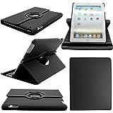 Perfect Choice Elegant Cases for Apple iPad Air 2- Ipad 6th Generation (Ipad 6) Ipad Air - 2, 360 Rotating PU Leather stand Case - Black