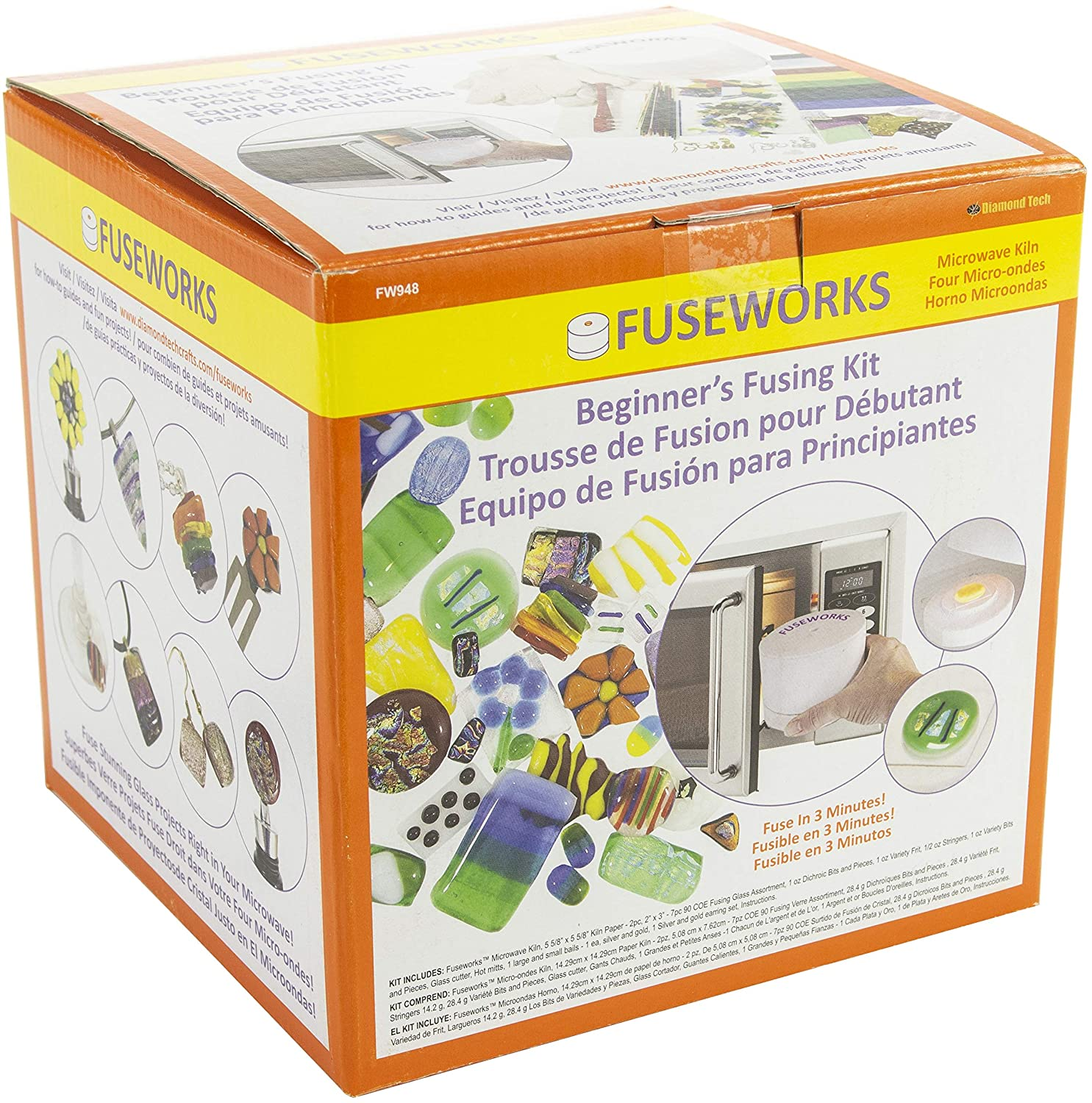 Amazon.com: Fuseworks Beginners Fusing Kit: Kitchen & Dining