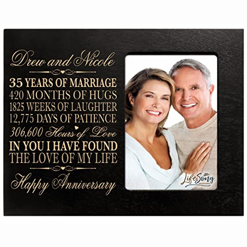 35th Wedding Anniversary Gift Ideas For Parents: 35 Year Anniversary Gift: Amazon.com