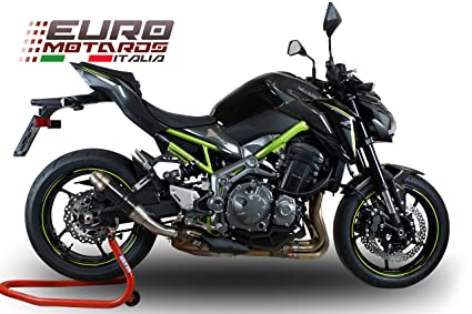 Kawasaki Z900 2017 2018 GPR Exhaust Slip On Silencer Deeptone CF New