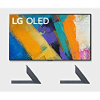 "LG OLED55GXP 55"" OLED Gallery Design Smart 4K Ultra High Definition TV with a LG AN-GXDV55 OLED GX 55"" Furniture & Shelf…"