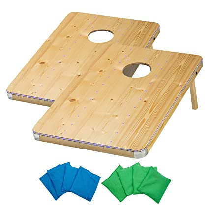 Strange Franklin Sports Led Light Up Cornhole Bean Bag Toss Gmtry Best Dining Table And Chair Ideas Images Gmtryco