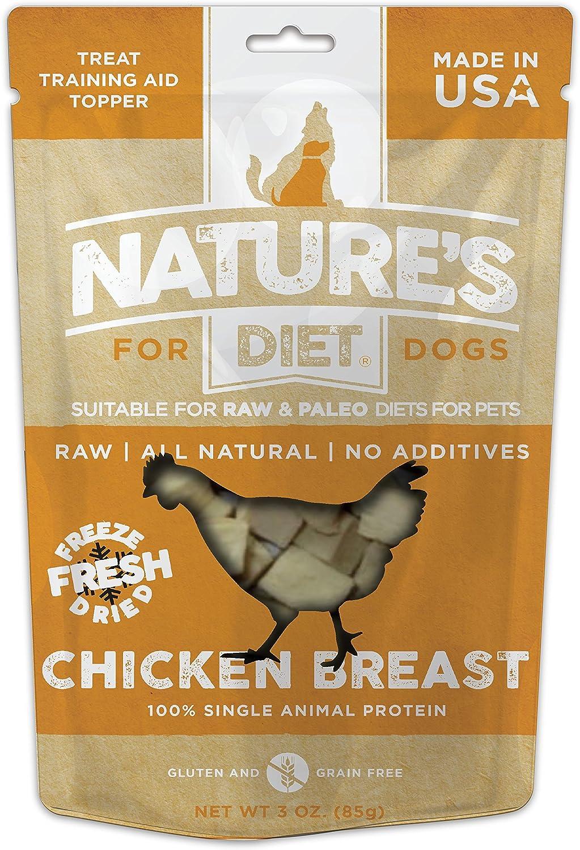 Natures Diet Pet Crudo Liofilizado sin Granos para Perros