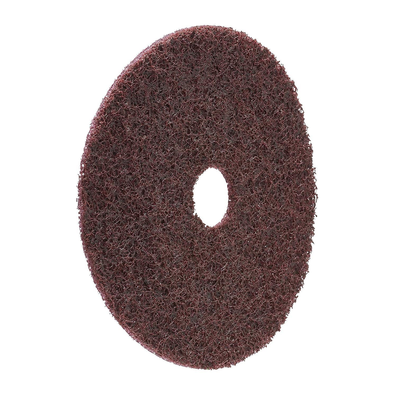 20 Disques Grain A Gros 115 x 22 mm plein Scotch-Brite SC-DH Disque abrasif non tiss/é