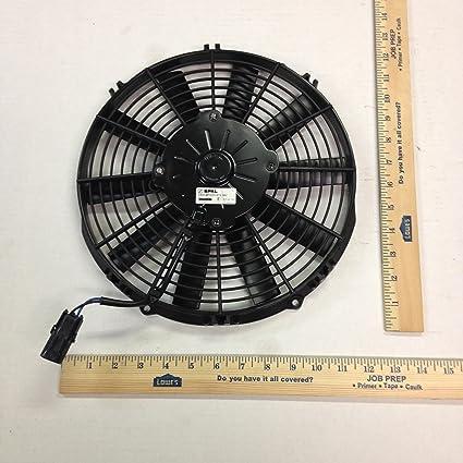 va09-bp12/C/i-27s SPAL 24 V ventilador de refrigeración va09bp12/C ...