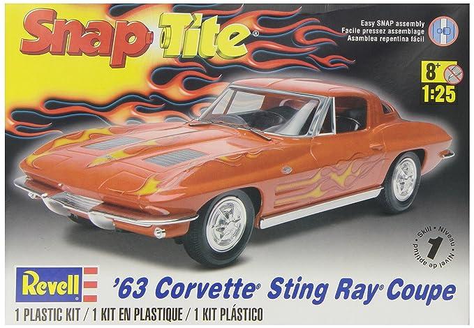 revell 1 25  : Revell 1:25 Corvette Stingray Coupe: Toys & Games