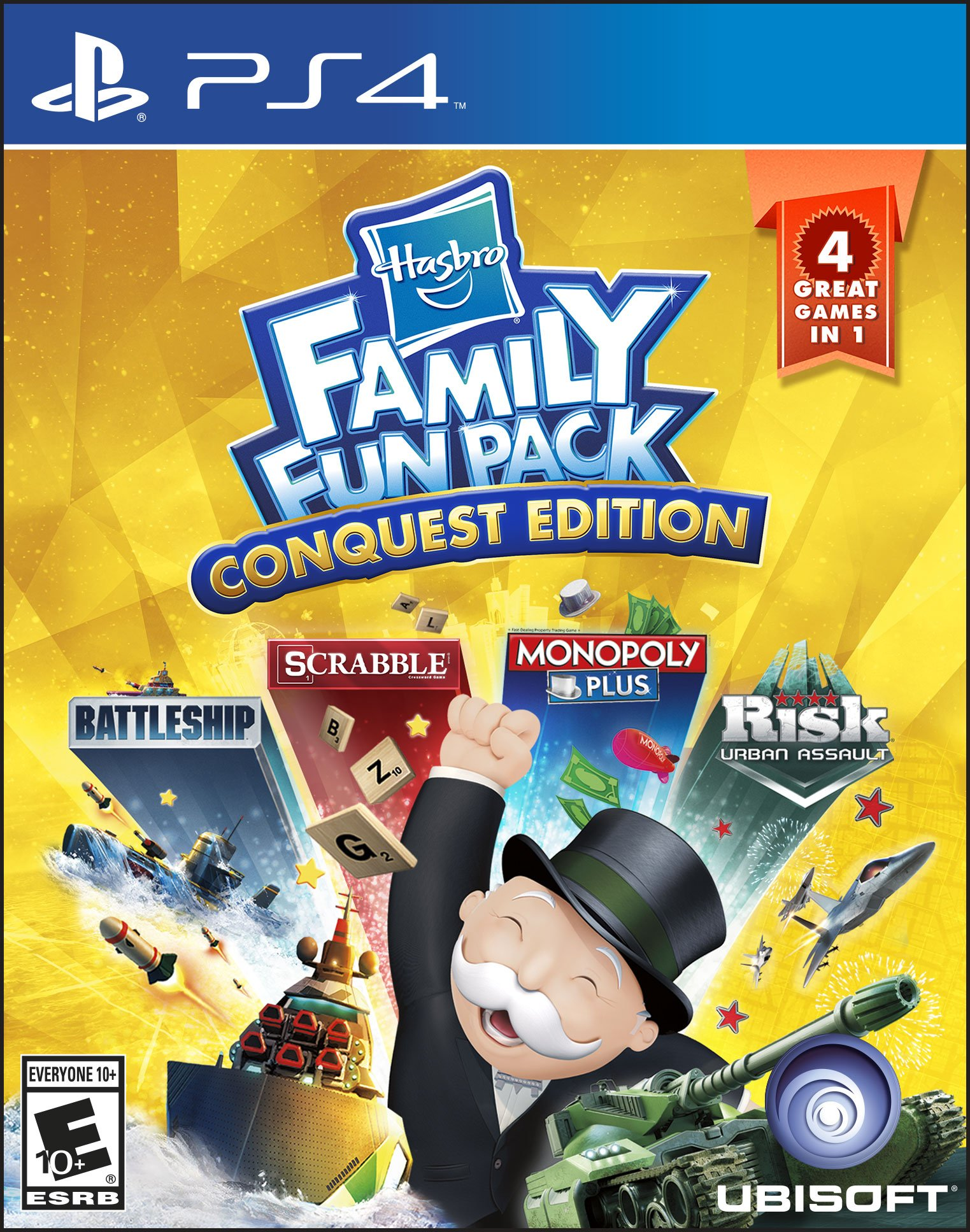 Hasbro Family Fun Pack Conquest Edition - Playstation 4