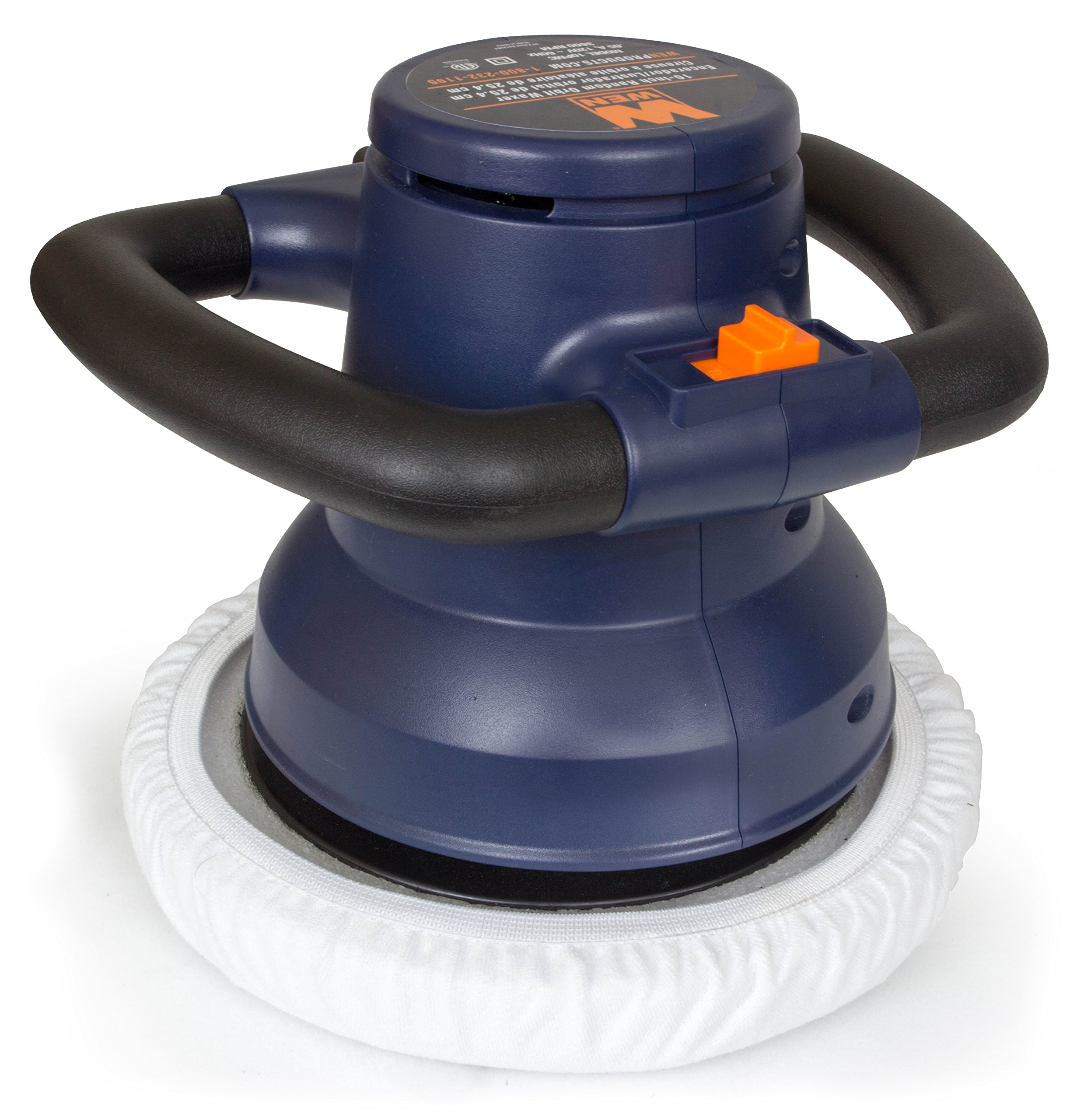 WEN 10PMC 10-Inch Waxer/Polisher in Case with Extra Bonnets by WEN