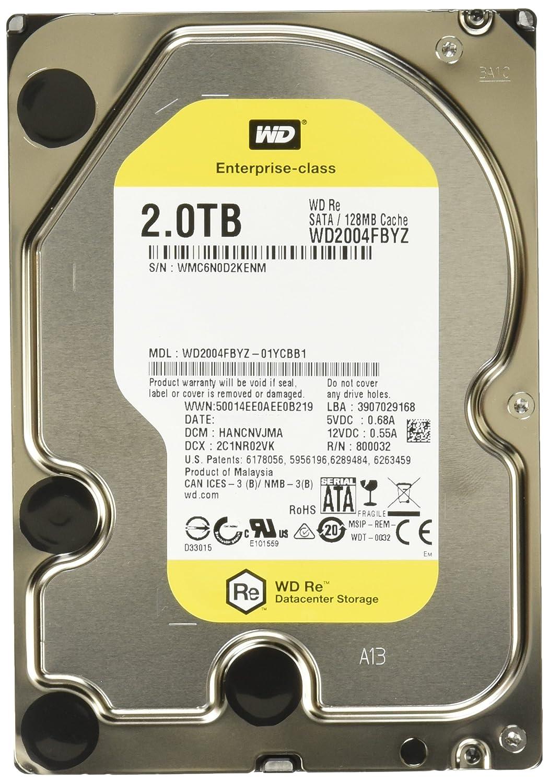 Western Digital RE 2000GB SATA Disco Duro 5-60 /°C, -40-70 /°C, SATA, Unidad de Disco Duro, Windows 2000, Windows 2000 Professional, Windows 7 Enterprise x64, Windows 7 Home Basic, Windows 7 H
