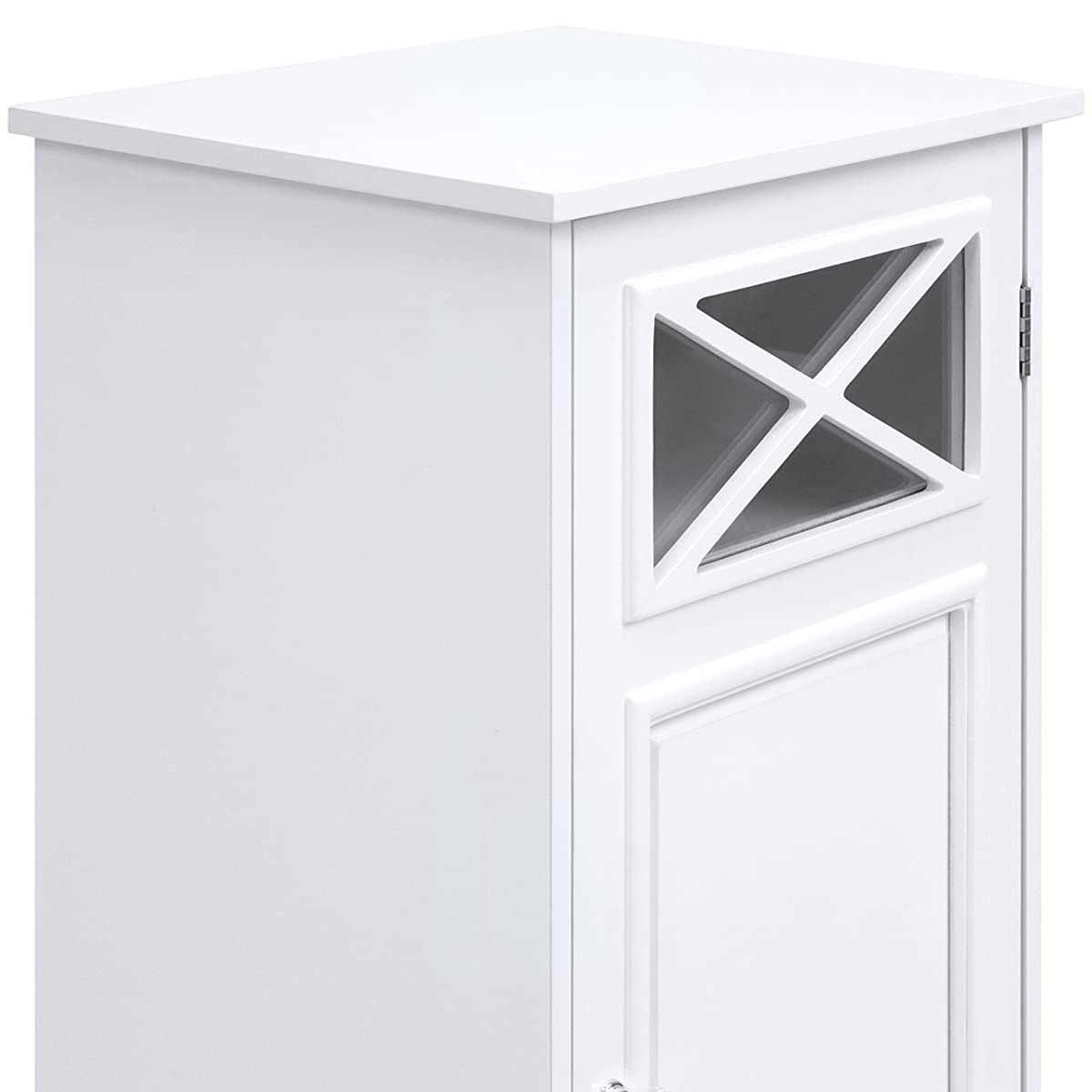 Best Choice Products Elegant Floor Cabinet w/Door (White)