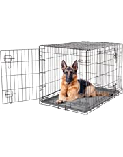 Dogit 2 Door Wire Cage/Home, Black, 106.5 x 70 x 77 cm