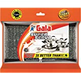 Gala Super Scrub Set (Black, 2 Pieces)
