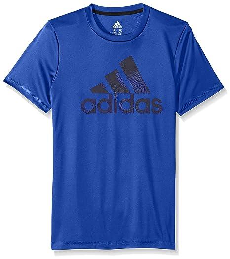 69cb5754 adidas Boys' Short Sleeve Logo Tee Shirt