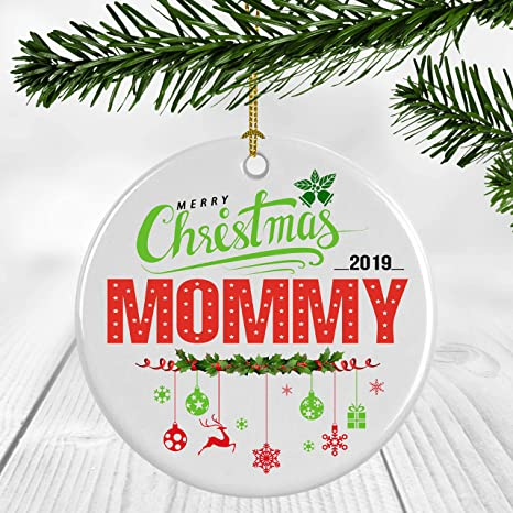 Simple Christmas Tree Decorations 2019.Amazon Com Ceramic Christmas Tree Ornaments Christmas