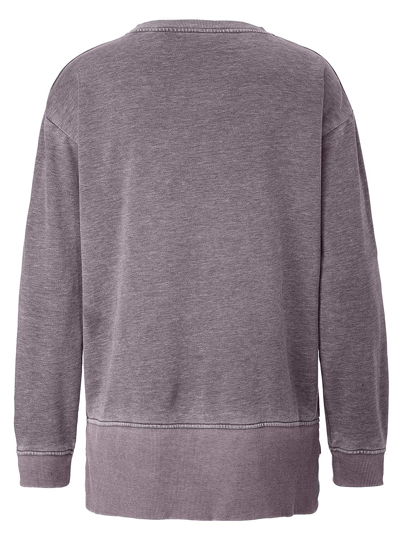 Rockgewitter Damen Sweatshirt mit Druck und Pailletten