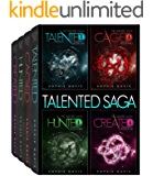 The Talented Saga: Books 1-4 plus Novella: A Dystopian Paranormal Romance (Talented Saga Boxed Set)