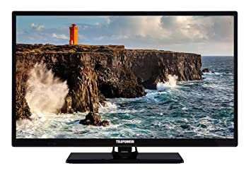 a67a5c3f6e Telefunken XH24D101 61 cm (24 Zoll) Fernseher (HD Ready, Triple Tuner)