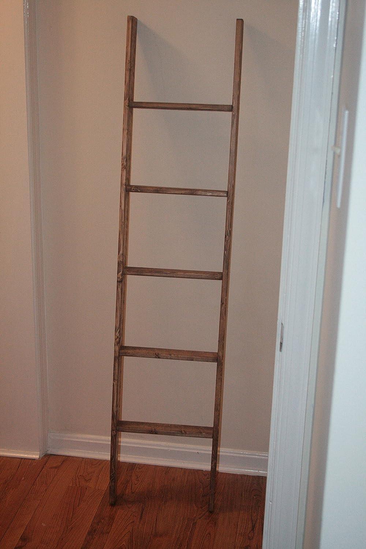 Amazon Rustic Ladder 72 Distressed Blanket Ladder Quilt