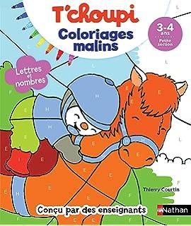 Tchoupi Coloriages Malins Lettres Et Nombres Magiques