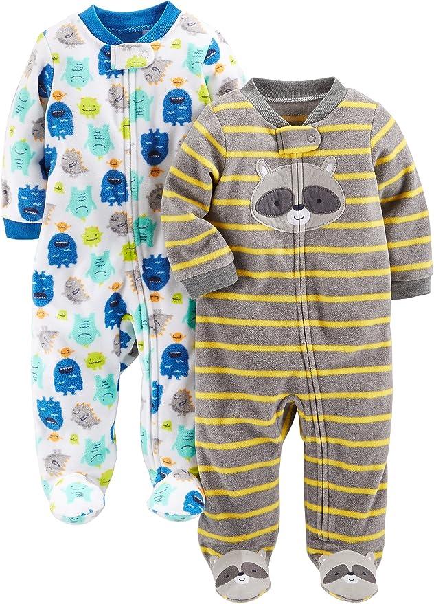 Newborn Simple Joys by Carters Baby confezione da 6 Stripes Body a maniche corte