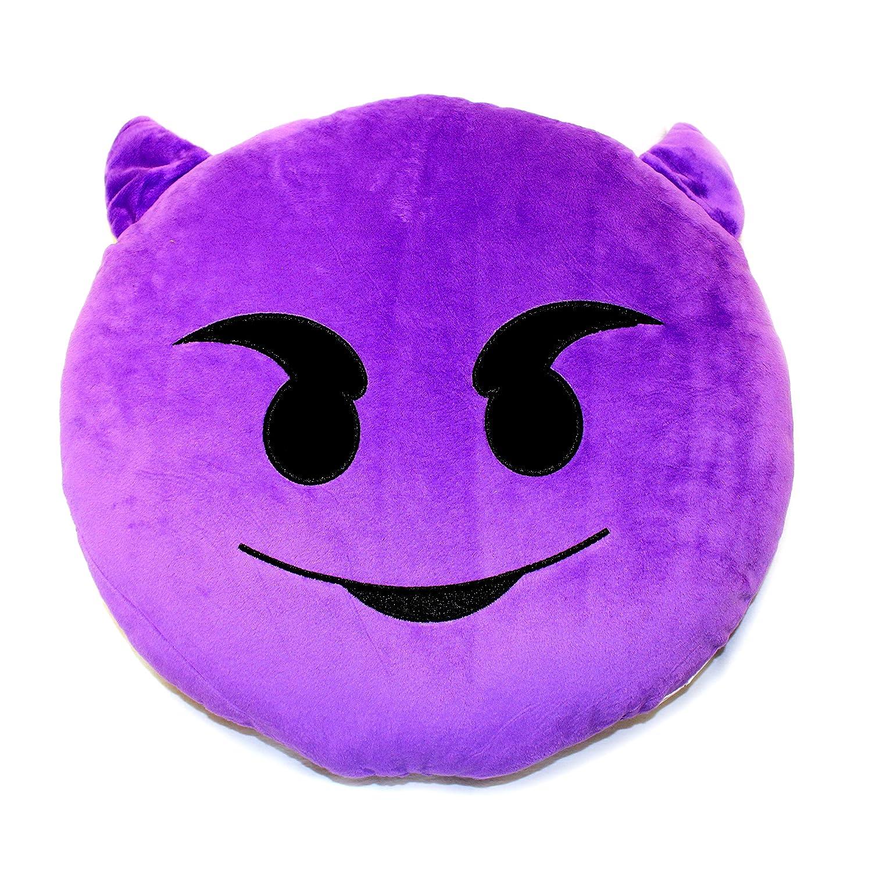 Emoji cojín en forma de diablo: Amazon.es: Bebé