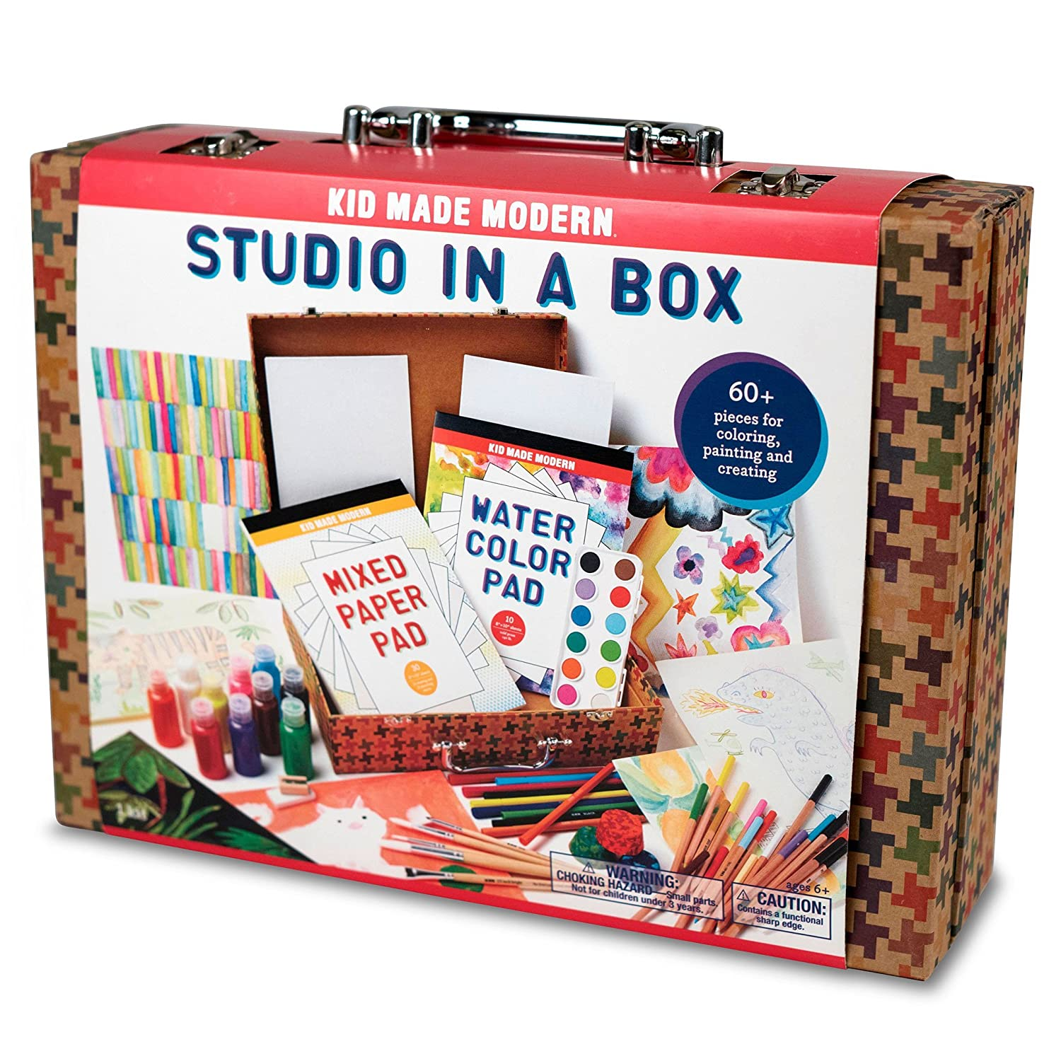 amazon com kid made modern studio in a box playset toys games
