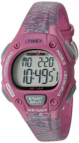 Timex Reloj de Mujer Cuarzo Digital Correa y Caja de Resina TW5M07600: Amazon.es: Relojes