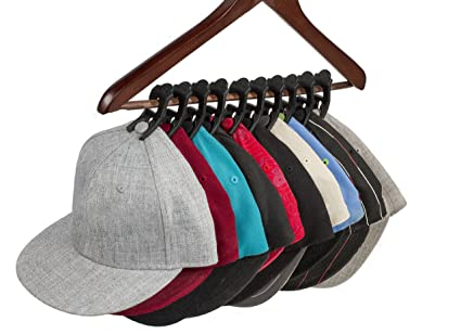 Caiman Hat Clips: The Hat Organizer That Fits In Your Closet And Protects  Your Hats