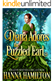 Diana Adores the Puzzled Earl: A Historical Regency Christmas Romance Book