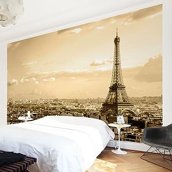 Apalis Vliestapete I Love Paris Fototapete Breit | Vlies Tapete ...