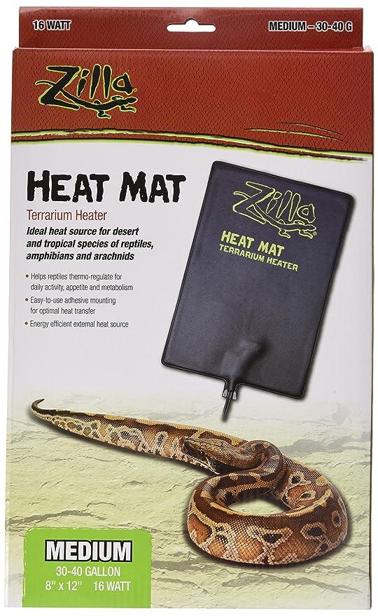 Amazon Com Zilla Reptile Terrarium Heat Mats 30 40 Gallon Pet