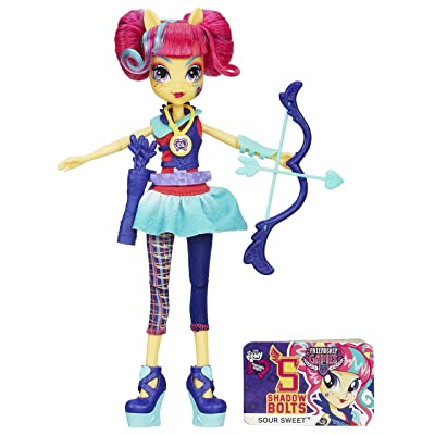 My Little Pony Equestria Girls Sour Sweet Doll: Toys & Games