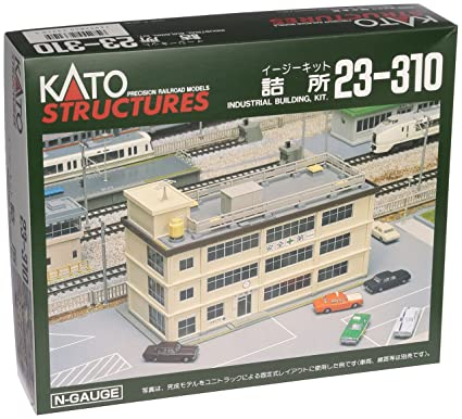 Kato 23-310 N Scale Industrial Building Structure