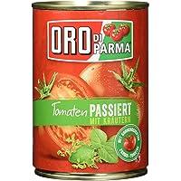 Oro Di Parma Tomates Pasa con hierbas, 6pack