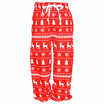 ub winter print matching family holiday pajama pants