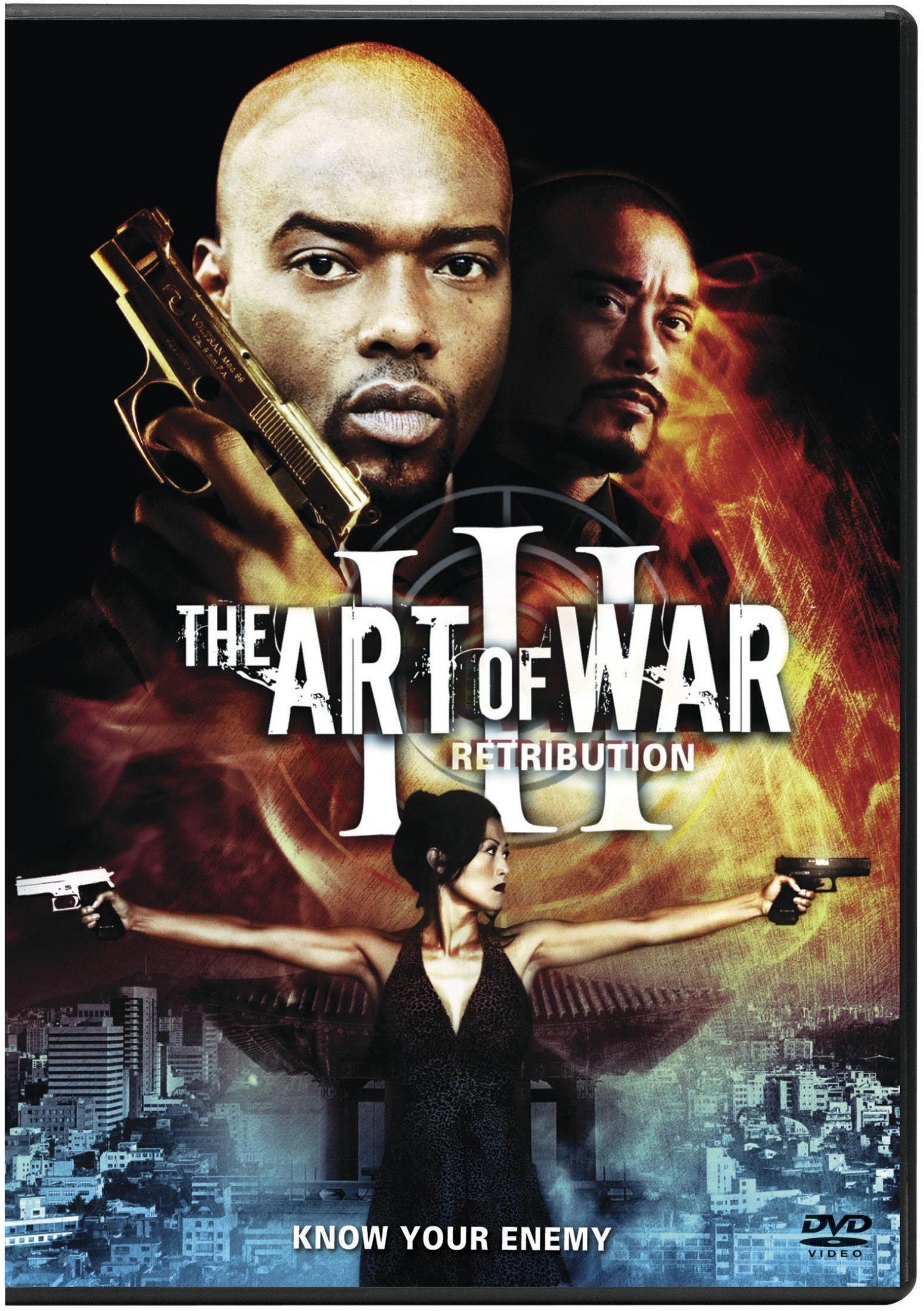 DVD : The Art Of War Iii: Retribution (Subtitled, Dubbed, Dolby, AC-3, Widescreen)