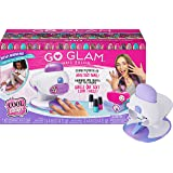 Cool Maker, GO Glam Nail Stamper Deluxe Salon with Dryer for Manicures and Pedicures with 3 Bonus Patterns and 2 Bonus Nail P