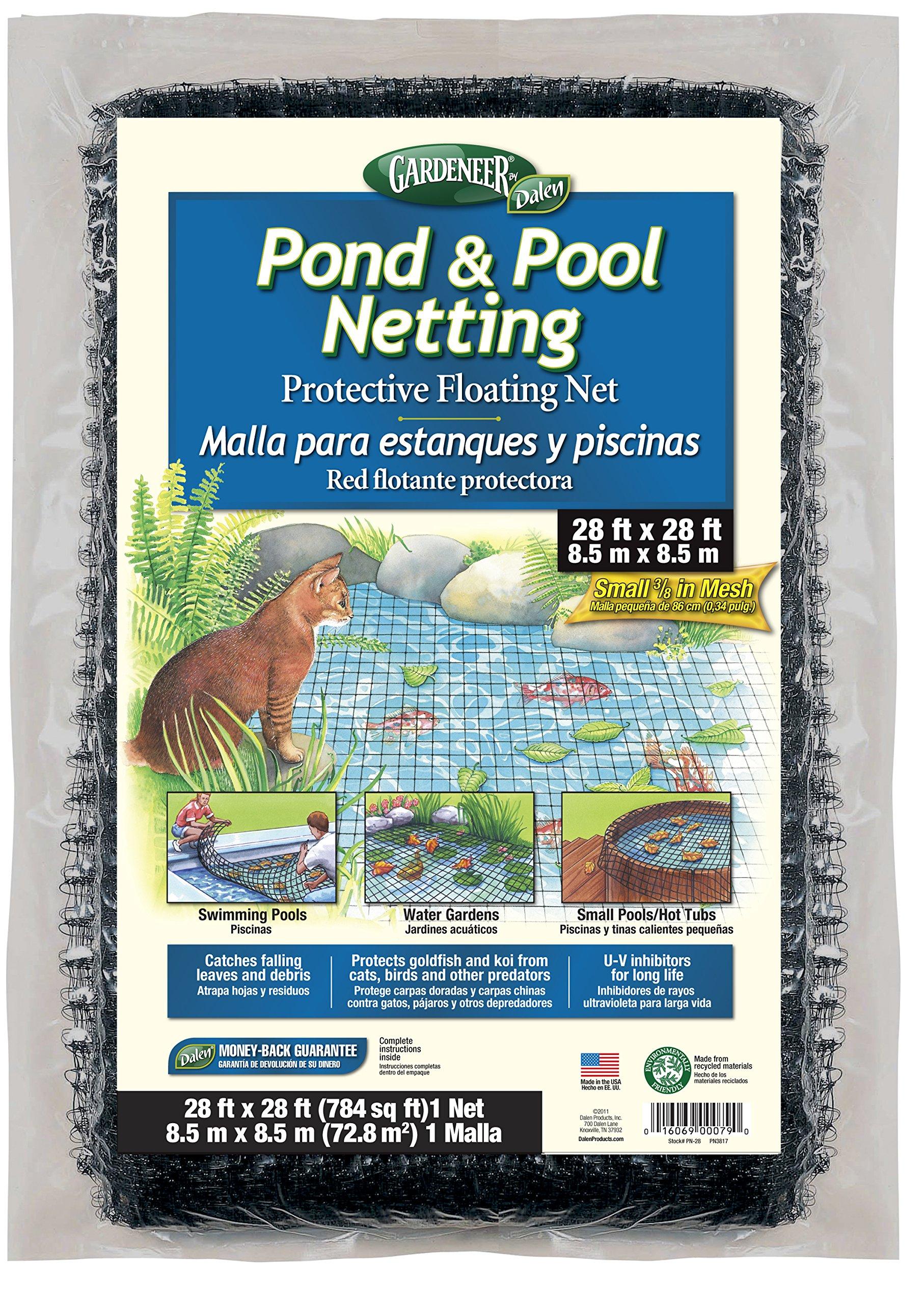 Dalen PN-28 PN28 Pond Netting 28-Feet 3/8'' Mesh, 28'X28' by Dalen